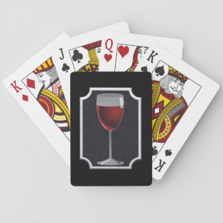 Wine glass - playing cards' playing cards
