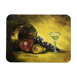 Wine Glass with Fruit Magnet