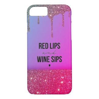 Wine&Glitter iPhone 8/7 Case
