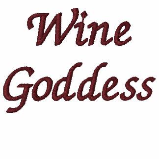 Wine Goddess Embroidered Hoody