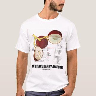 Wine Grape Berry Anatomy (Fruit) T-Shirt