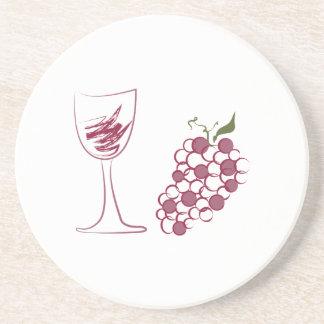 Wine Grapes Coaster