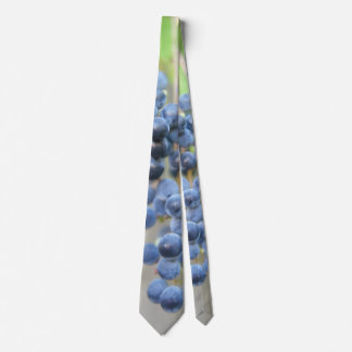 Wine Grapes Necktie