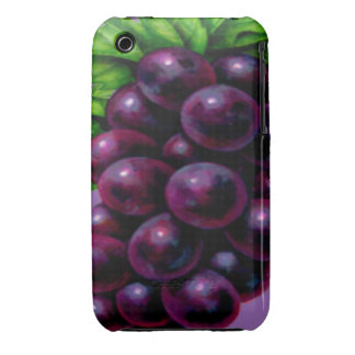 Wine Grapes Purple iPhone 3 Cover