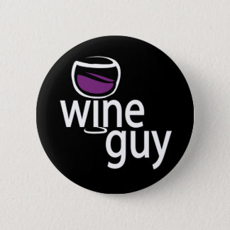 Wine Guy 6 Cm Round Badge