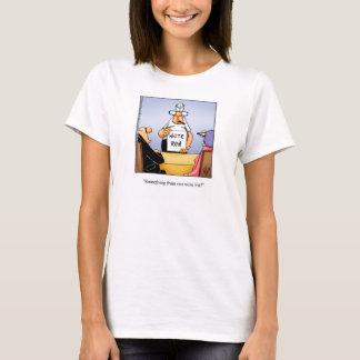 Wine Humor Tee Shirt for Her