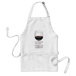 WINE - I LOVE COOKING WITH WINE STANDARD APRON