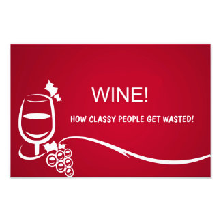 Wine illustration photo