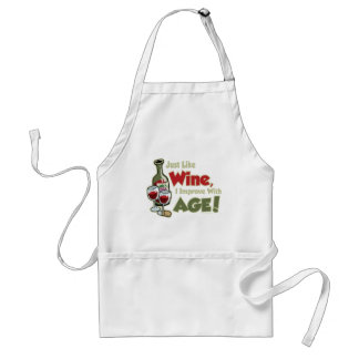 Wine Improve With Age Standard Apron