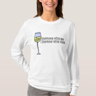 Wine Improves . . . T-Shirt
