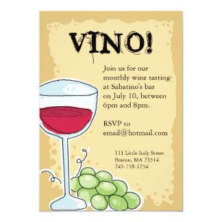 Wine Invitation