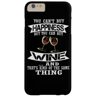 Wine is Happiness Barely There iPhone 6 Plus Case