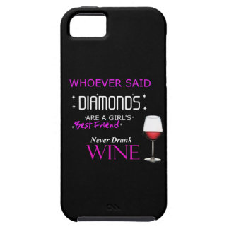 Wine Is My BFF iPhone Case
