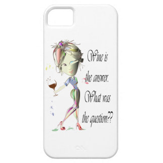 Wine is the Answer - what was the question?? iPhone 5 Case