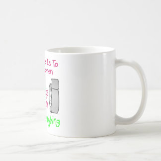 Wine Is To Women As Duct Tape Is To Men It Fixes Coffee Mug