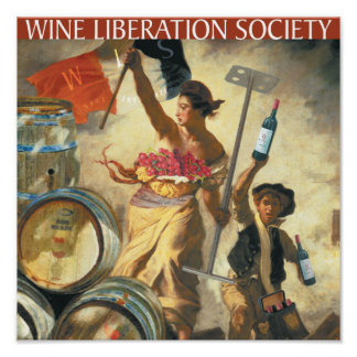 Wine Liberation Society Poster