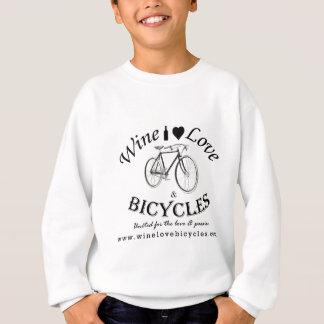 Wine Love and Bicycles Sweatshirt
