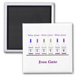 WINE LOVER_for business Fridge Magnet