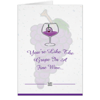 Wine Lover Occasion Card
