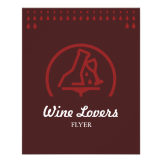 Wine Lovers 11.5 Cm X 14 Cm Flyer