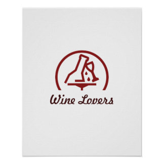 Wine Lovers Poster