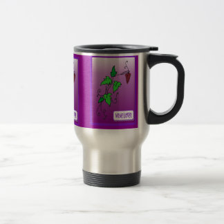 Wine lovers, vines travel mug