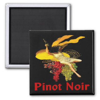 Wine Maid Pinot Noir Square Magnet