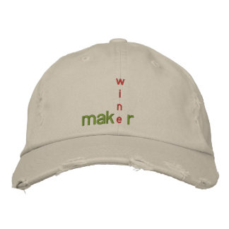 WINE MAKER GEAR EMBROIDERED HAT