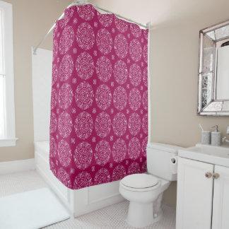 Wine Mandala Shower Curtain