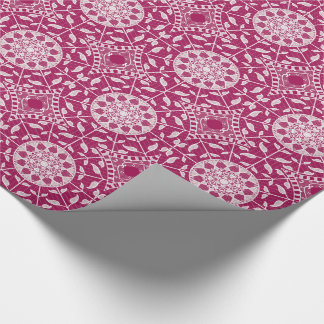 Wine Mandala Wrapping Paper