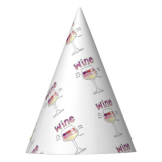 WINE, MORE WINE, EVEN MORE WINE PARTY HAT