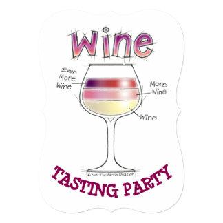 WINE, MORE WINE, EVEN MORE WINE PARTY INVITATIONS