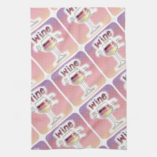 WINE, MORE WINE, EVEN MORE WINE TEA TOWEL