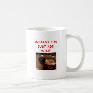 wine coffee mugs