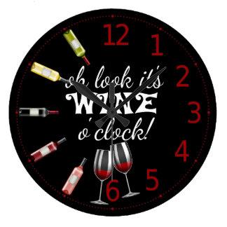 Wine O Clock Clock
