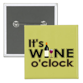 Wine O Clock Pins