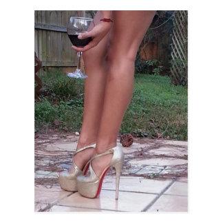 Wine O Clock Postcard
