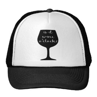 Wine O'Clock Cap