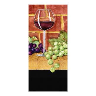 Wine on the Shelf Full Colour Rack Card