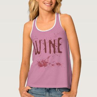 Wine Pink Tank Top