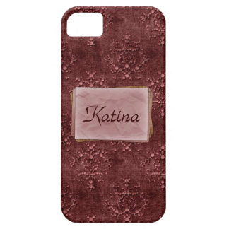 Wine Pink Tapestry Print Case-Mate iPhone 5 iPhone 5 Cover