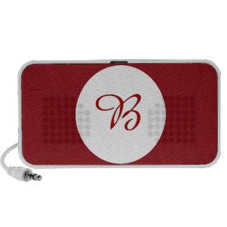 Wine Plain Design Laptop Speaker
