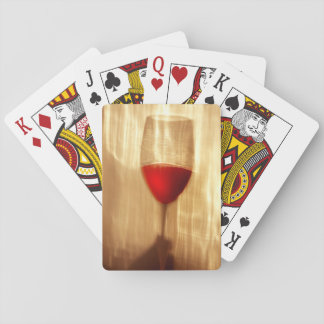 Wine Playing Cards, Standard Index faces. Playing Cards