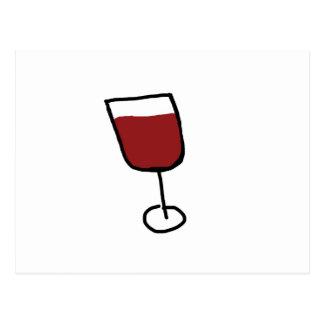Wine Postcard