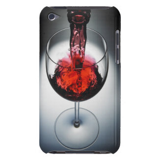 Wine poured in glass barely there iPod cases