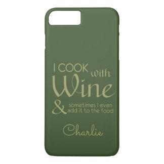 Wine Quote custom name phone cases