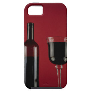 Wine red glass bottle iPhone 5 case