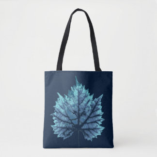 Wine sheet autumn tote bag