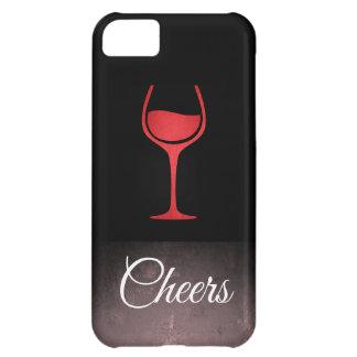 Wine / Slate Grunge iPhone 5C Case
