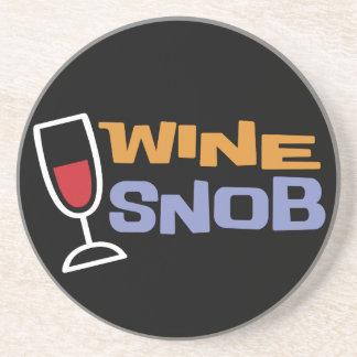 Wine Snob Coaster